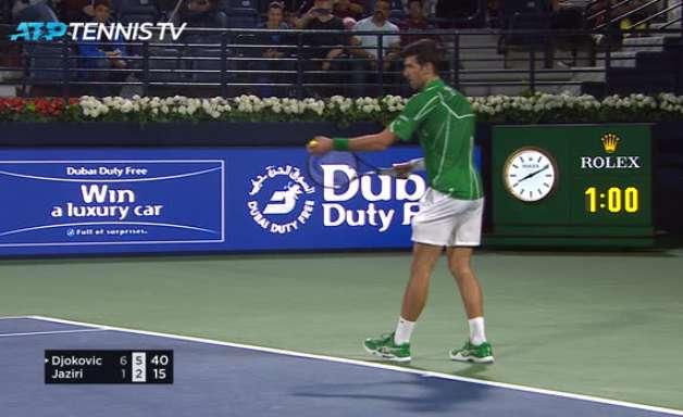 TÊNIS: ATP Dubai: Djokovic vence Jaziri (6-1, 6-2)
