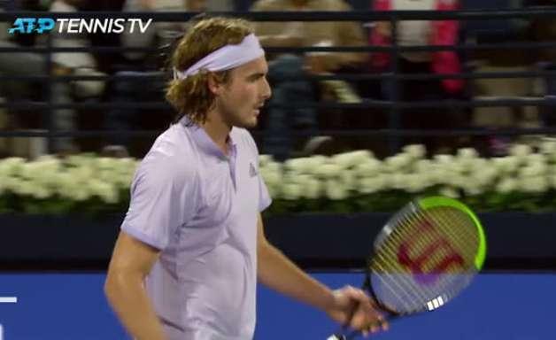 TÊNIS: ATP Dubai: Tsitsipas derrota Evans (6-3, 6-2)
