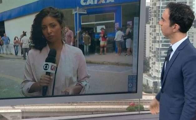 Equipe da Globo é alvo de ofensas durante ao vivo; vídeo