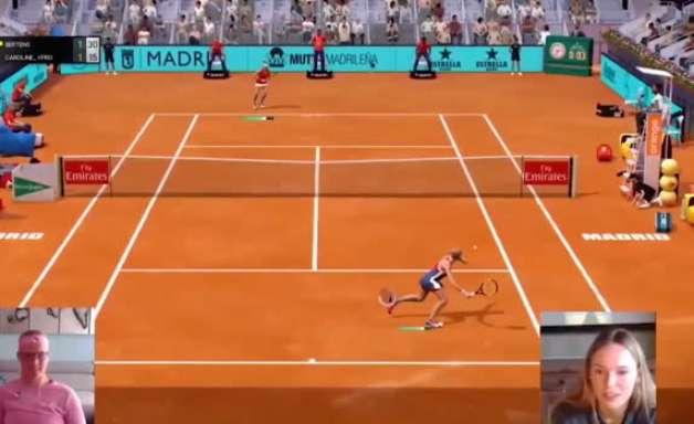 TÊNIS: Madrid Open Virtual Pro: Kiki Bertens garante lugar na final