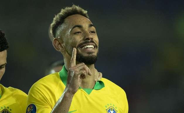 Matheus Cunha 'bateu o pé' por Hertha e agora colhe os frutos na seleção
