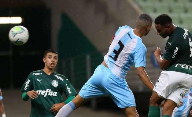Palmeiras vence o Londrina e avança às quartas de final da Copa do Brasil Sub-20