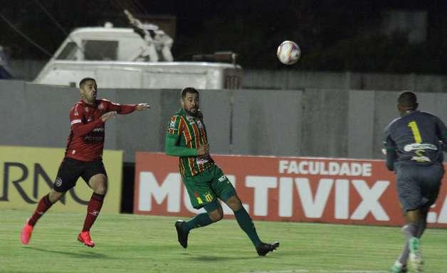 Brasil de Pelotas e Sampaio Corrêa ficam apenas no empate em partida atrasada da Série B