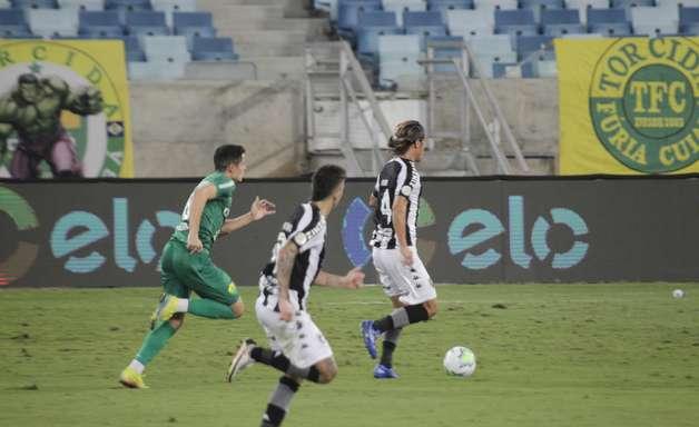 Botafogo empata com Cuiabá e se despede da Copa do Brasil