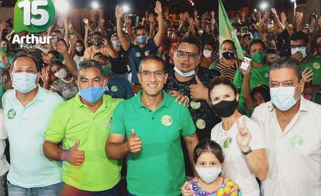 Arthur Henrique, do MDB, é eleito prefeito de Boa Vista
