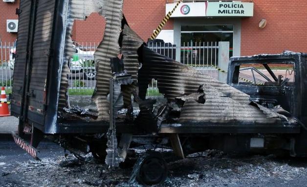 'Evitamos confronto para salvar vidas': o que dizem PM e autoridades sobre mega-assalto que sitiou Criciúma