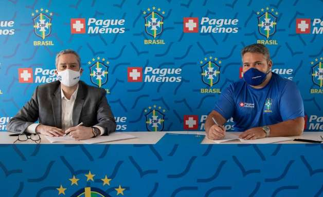 CBF anuncia acordo com novo patrocinador para a Seleção Brasileira