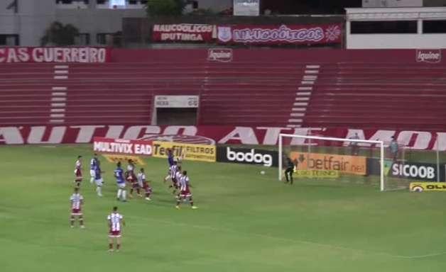 SÉRIE B: Gols de Náutico 2 x 1 Paraná