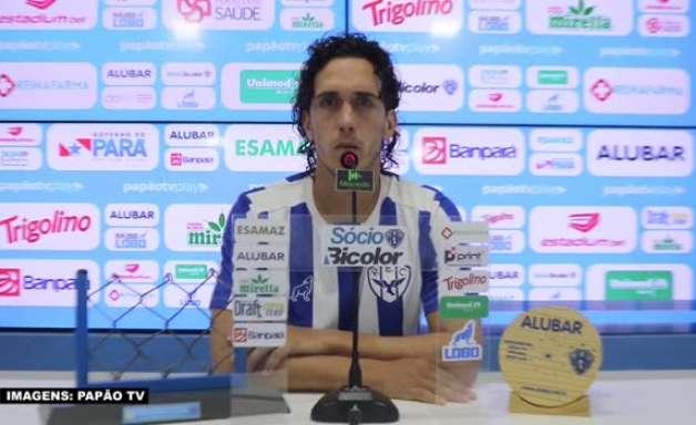 """PAYSANDU: Nicolas destaca 'atenção' como o principal cuidado a ser tomado para enfrentar o Ypiranga: """"A equipe que errar menos, sairá vitoriosa"""""""