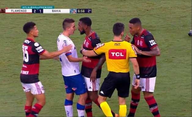 Polícia jogador do Bahia por injúria racial contra Gerson