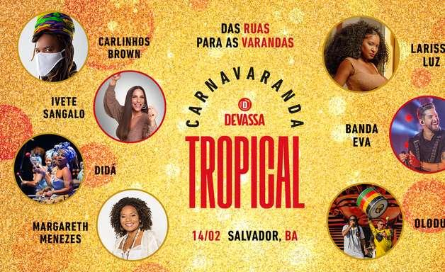 Carnaval na Varanda com Ivete, Margareth e Carlinhos