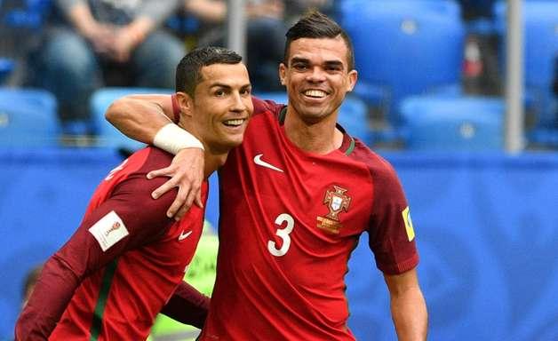 Pepe e Cristiano Ronaldo separados por 900 mil euros no Sporting