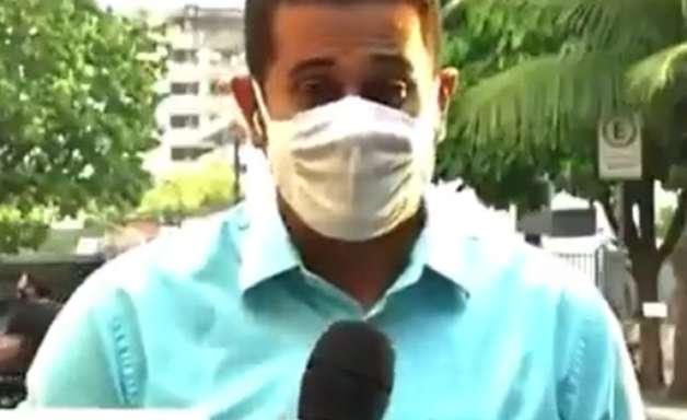 Repórter da Globo faz campanha contra Karol Conka ao vivo