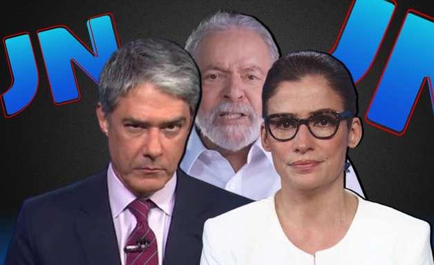 JN ignora acusação e cobrança de Lula ao jornalismo da Globo