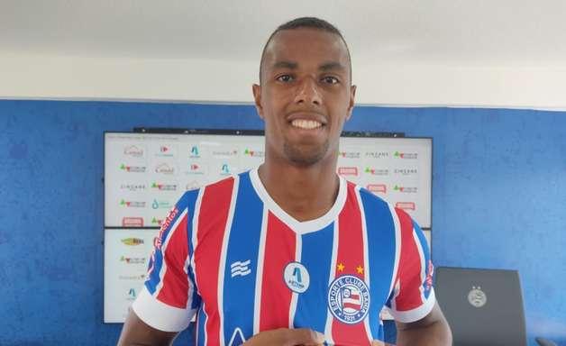Zagueiro Luiz Otávio fala sobre chegada ao Bahia: 'Estou muito feliz'