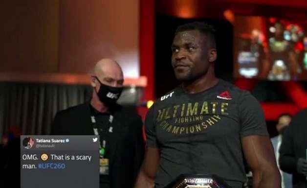 Destaques no UFC 260, campeão Ngannou e brasileiro Vicente Luque faturam quase R$ 290 mil; veja