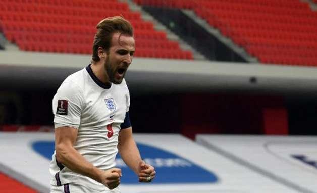 Kane brilha, e Inglaterra vence a 2ª nas Eliminatórias