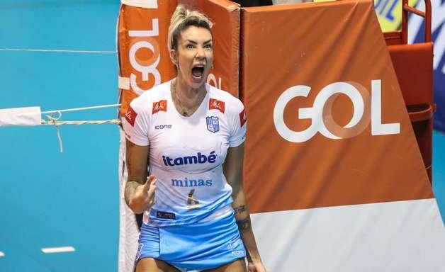 Minas supera Sesi Bauru e garante vaga na final da Superliga Feminina