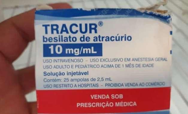 Balconista é presa por tentar vender remédio para intubação