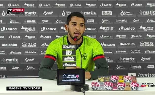 """COPA DO NORDESTE: Lucas Arcanjo garante que equipe manterá sua forma de jogar no confronto contra o Treze-PB: """"Vamos propor o jogo do começo ao fim"""""""