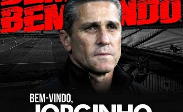 Jorginho é anunciado como novo técnico do Atlético-GO