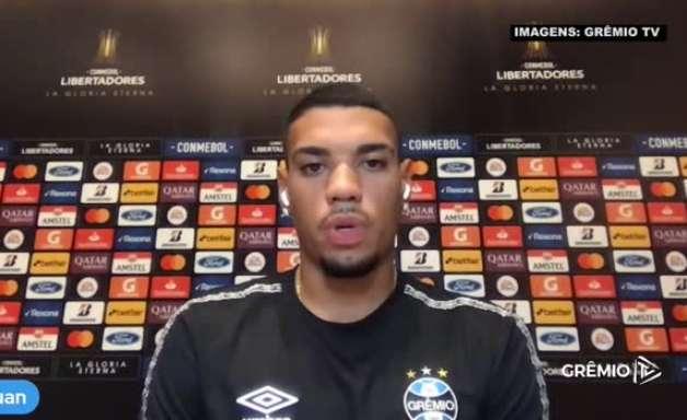 """GRÊMIO: Ruan se coloca a disposição para atuar de lateral e garante: """"Só quero mostrar meu futebol"""""""