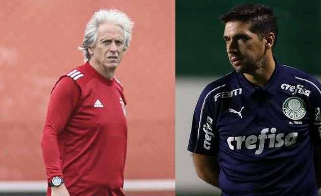 Após Palmeiras perder outra final, torcedores comparam números de Abel Ferreira e Jorge Jesus