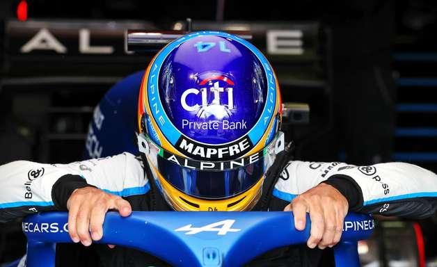 """Alonso vê dificuldades no GP da Emília-Romanha e admite: """"Eu preciso melhorar"""""""