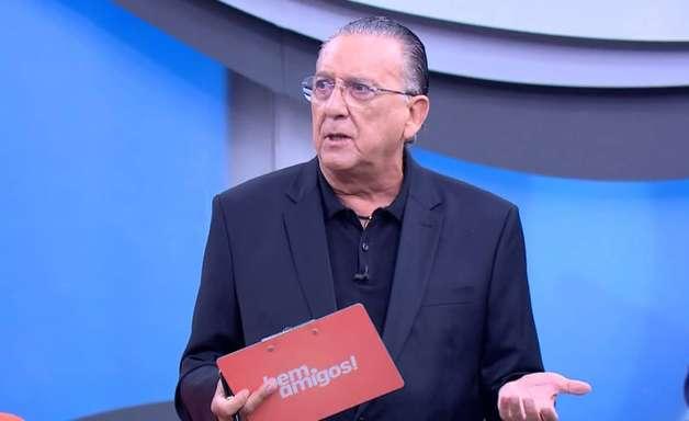 Em homenagem a Roberto Carlos, Galvão Bueno solta a voz no SporTV