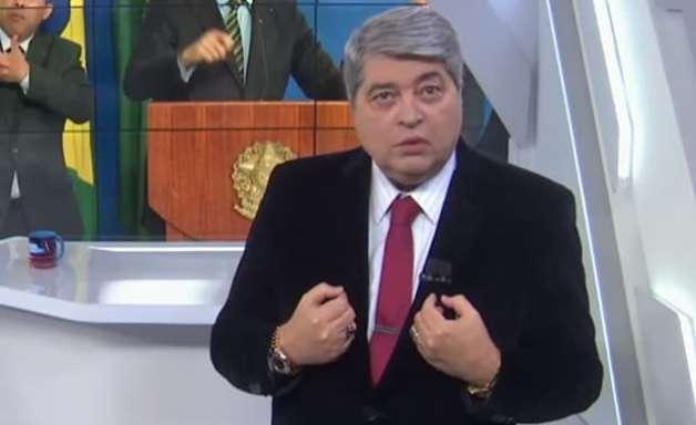 Silvio Santos contrata e demite Datena em questão de horas