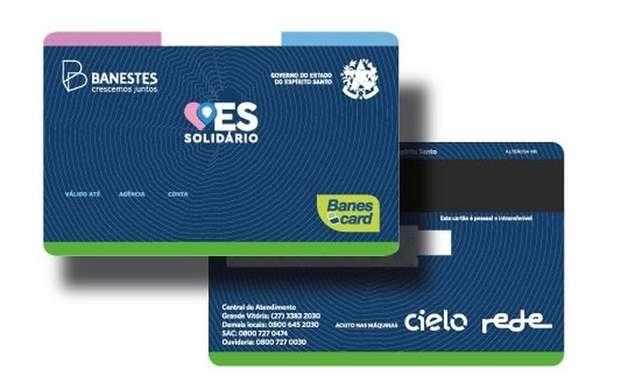 Cartão ES Solidário será entregue dia 26; veja quem pode receber