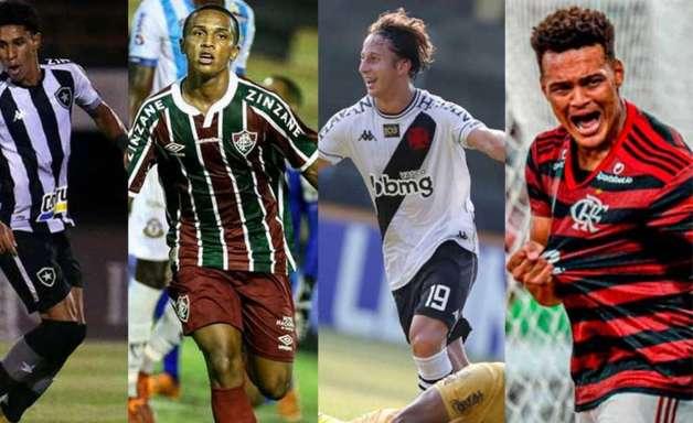 Primeira fase do Carioca traz uso de jovens por parte dos grandes, mas dilema por necessidade de resultados