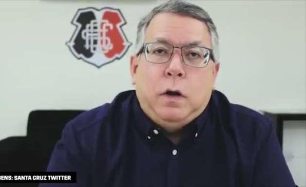 """SANTA CRUZ: Presidente anuncia Bolívar como treinador: """"um novo rumo ao futebol do clube"""""""