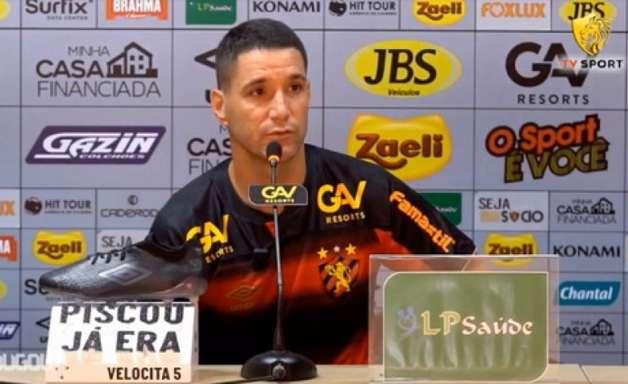 Presença de Thiago Neves para o clássico diante do Náutico é dúvida no Sport