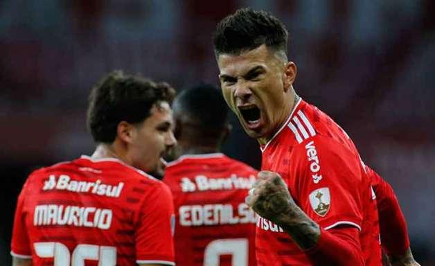 Internacional massacra o Deportivo Táchira pela Libertadores