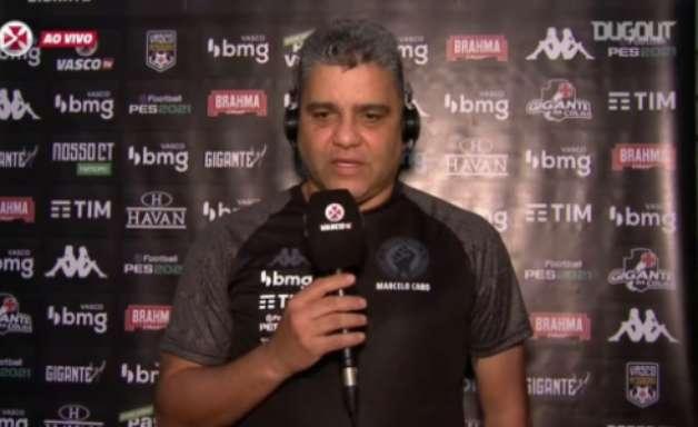 Marcelo Cabo explica planejamento do Vasco, critica expulsão e projeta classificação para final da Taça Rio