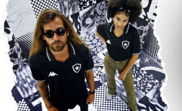 Inspiração em 1995, marca d'água com bandeira e detalhes: a nova camisa do Botafogo