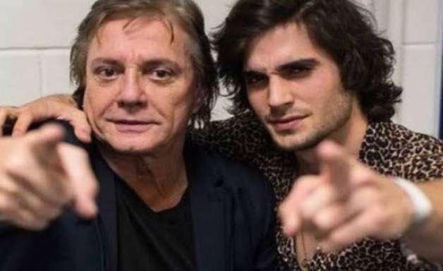 Fábio Jr vibra em reencontro com Fiuk após o 'BBB 21': 'Filhote chegou'