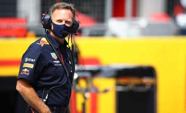 Horner comenta o fraco pit stop de Verstappen no GP da Espanha de F1