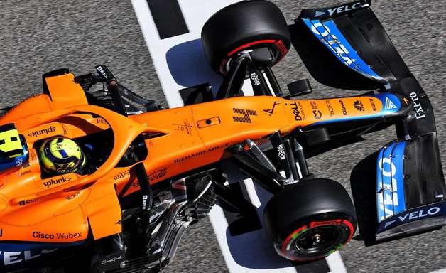 Norris não ficou muito satisfeito com seu desempenho na F1 na Espanha