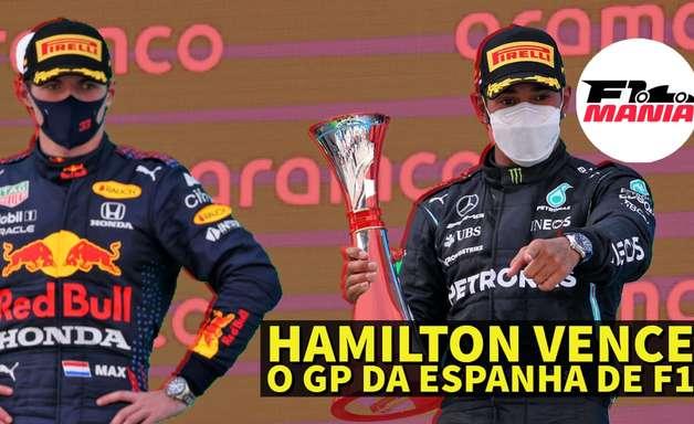 Em Dia: Hamilton vence o GP da Espanha de F1