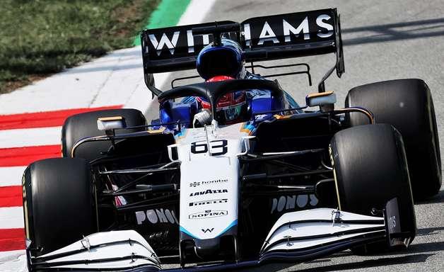 """Russell diz que Williams foi """"melhor do que nunca"""" apesar do 14º lugar no GP da Espanha"""