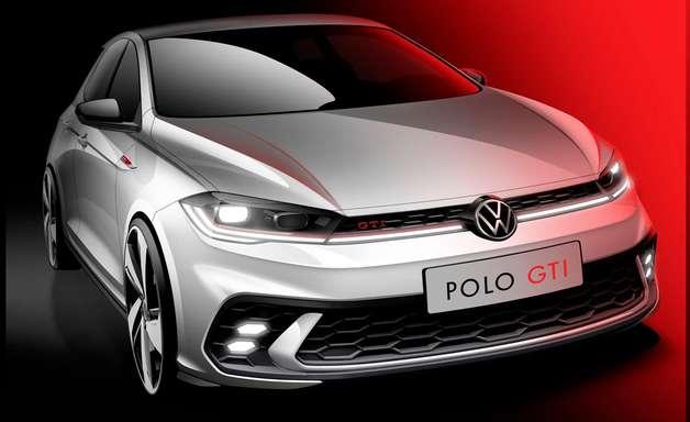 Volkswagen adianta teaser do Polo GTI renovado