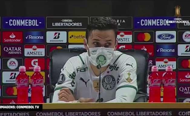PALMEIRAS: Raphael Veiga fala sobre sua posição na partida e destaca lance do gol na vitória contra o Del Valle
