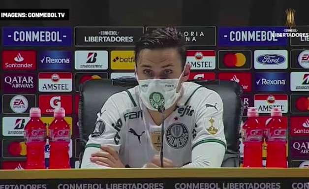 """PALMEIRAS: Raphael Veiga revela estratégia para jogo contra o Del Valle e tática para vencer na altitude: """"não teria como manter a intensidade"""""""