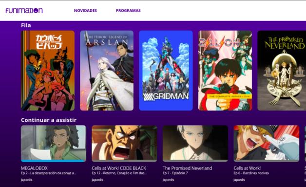 Funimation para PS4 e PS5 é liberado no Brasil após fase de testes
