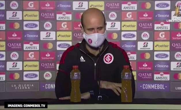 """INTERNACIONAL: Miguel Ángel Ramírez diz que partida não estava para a derrota: """"estávamos controlando"""""""