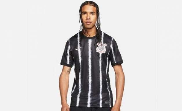 Vazam imagens da suposta nova camisa 2 do Corinthians para a temporada