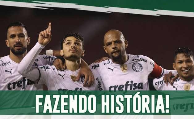 Vídeo: veja marcas e recordes que o Palmeiras bateu após vitória sobre Del Valle