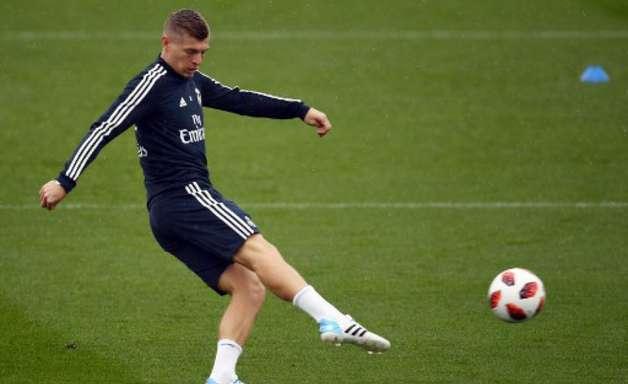 Com covid, Kroos desfalca Real na última rodada do Espanhol